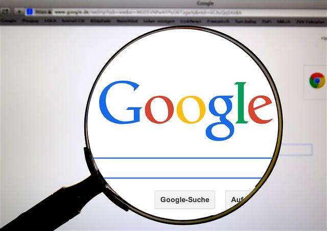 salir en google