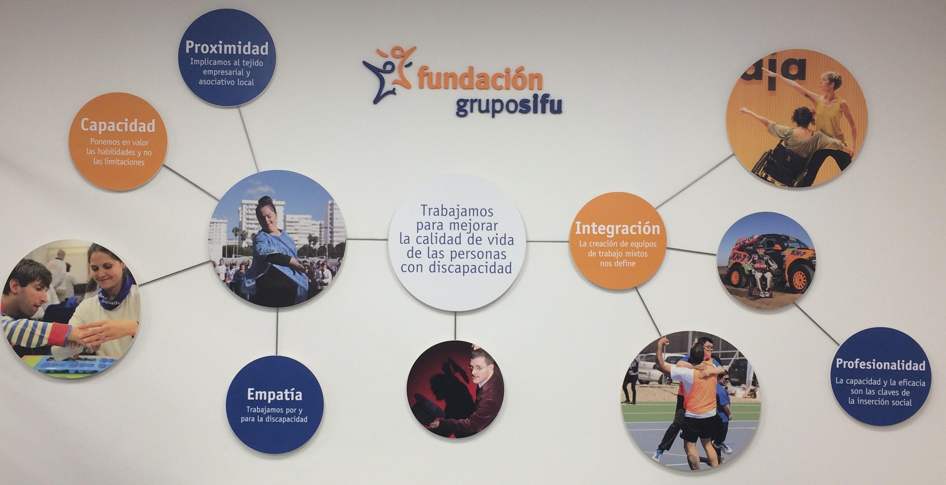 Fundación Grupo SIFU fomentando la inclusión laboral